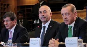 Turkish PM Erdogan in Brussels, Belgium