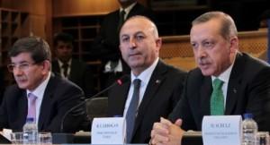 Turkish PM Erdogan in Brussels, Belgium