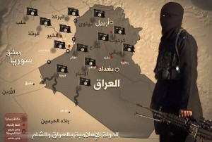 ISIS Iraq map