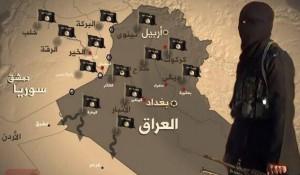 ISISIraqSyriamap