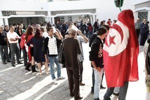 First free elections in Tunisia.Photo Pierre Terdjman/Cosmos