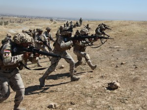 US Army Photo of Iraqi Security Forces (ISF) training