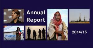 Annual Report Cover - English