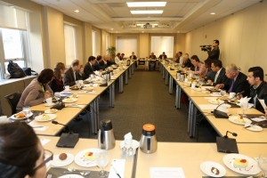 Roundtable at Brookings Institution