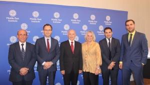 MERI Delegation at Middle East Institute
