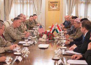 Barzani and US Delegation